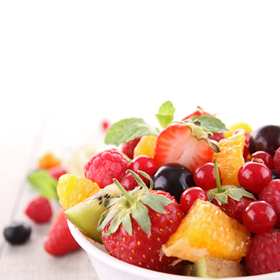 frischer Obstsalat